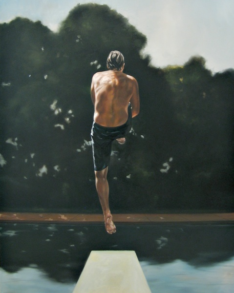 Eric Zener - Paintings - Balance