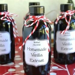 Homemade Vanilla Extract (DID THIS) really easy and really good.  Nice for presents and to sell.  Because it's strong you only use half what a recipe calls for, so it's economical too.
