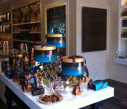 Godiva, Nişantaşı mağaza görsel düzenleme, 2011