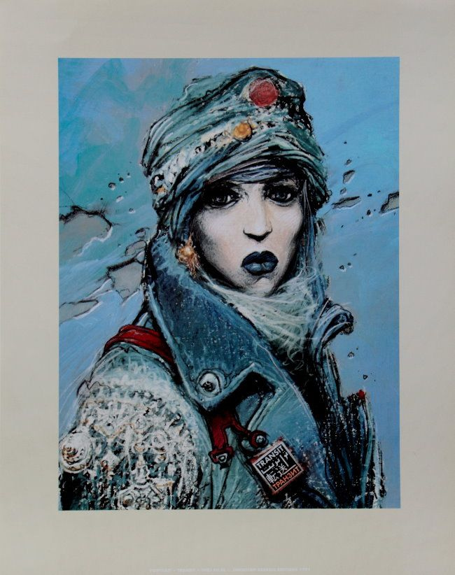Image Enki Bilal : Transit - Portrait de Irina