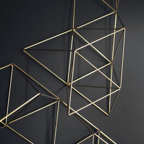 HRUSKAA Large Abstract Himmeli no. 1 Modern Wall by HRUSKAA