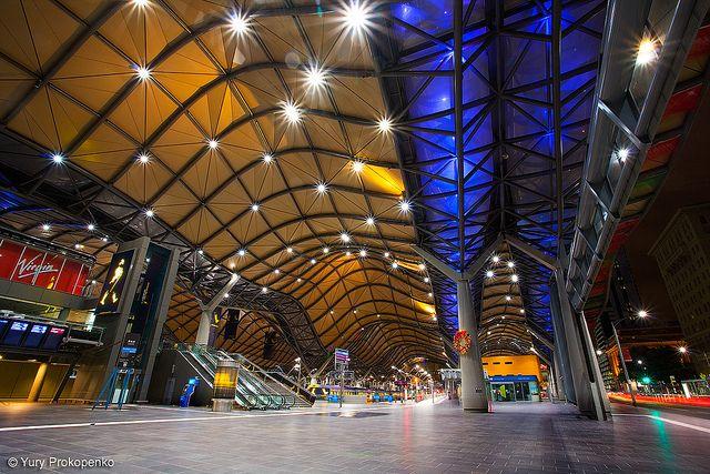Melbourne, Australia :: Southern Cross Station by -yury-, via Flickr