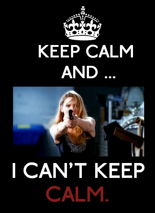 Can't keep calm about anything to do with Fringe