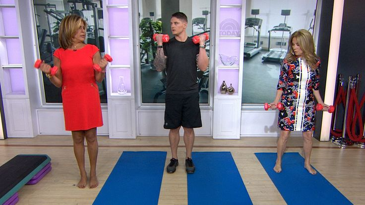 Even at 51, Hoda Kotb makes working out a regular part of her week — her toned arms and legs are evidence of it!