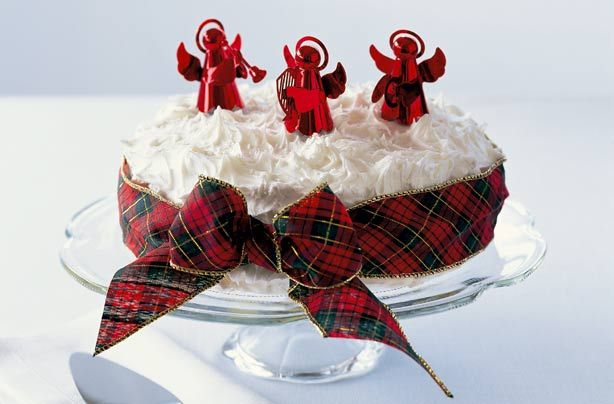 Made with fruits including currants, raisins and cherries and soaked with rich sherry, the sponge is fruity and moist. Mary Berry's Christmas cake is topped with an easy royal icing