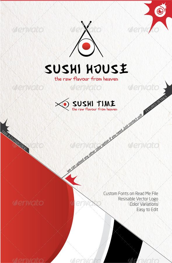 1000 images about sushi on Pinterest Logos Typography and