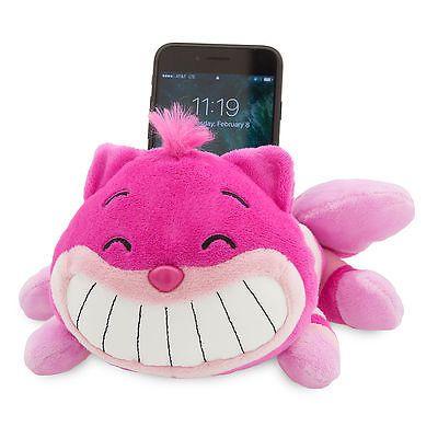 Disney Store MXYZ Cheshire Cat Plush Phone Holder NEW