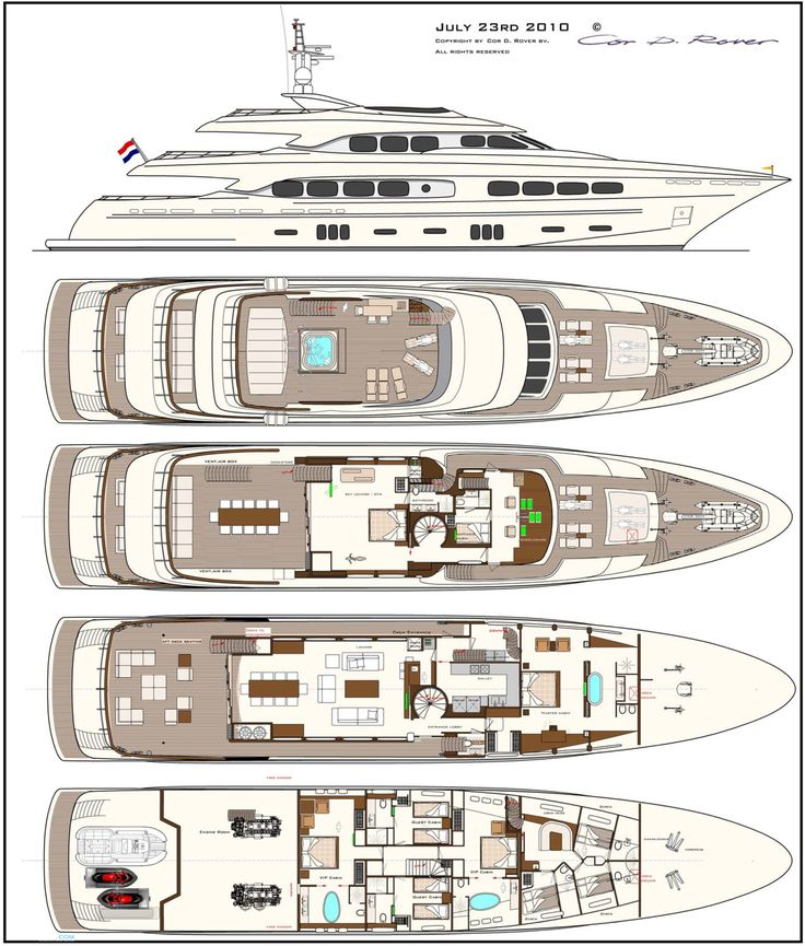 298 best yacht ga images on pinterest boats yacht for Boat floor plans