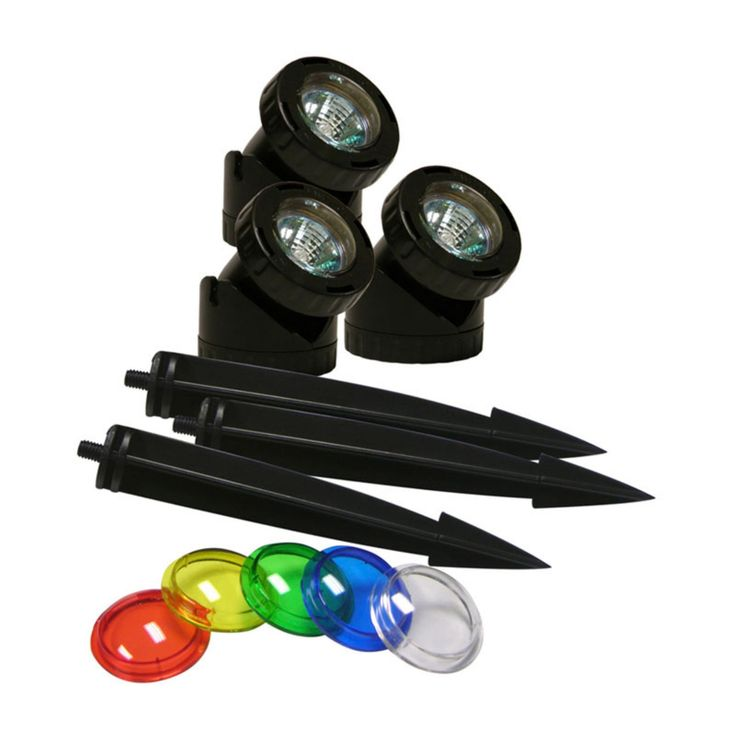 Alpine Power Beam 23 ft. Cord with Color Lenses - Set of 3 - PLM310