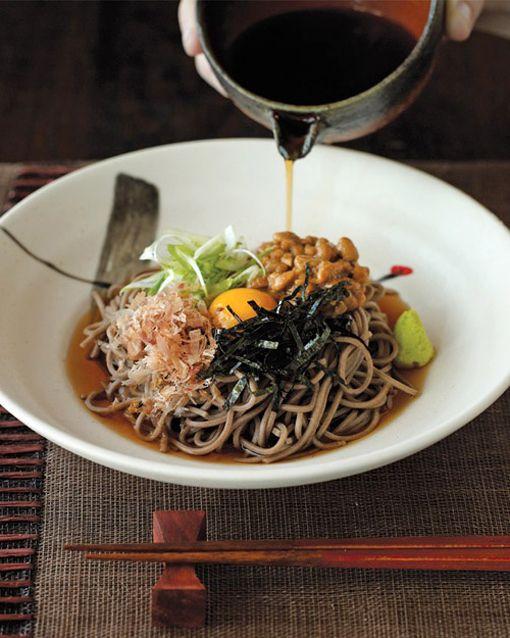 Japanese Soba Noodles / 蕎麦