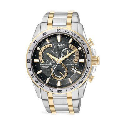 Citizen Men\'s Eco-Drive Chronograph Watch - AT4004-52E - RRP: £399.00 - Online Price: £339.00