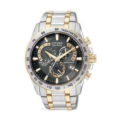 Citizen Men\'s Eco-Drive Chronograph Watch - AT4004-52E - RRP: £399.00 - Online Price: £339.00