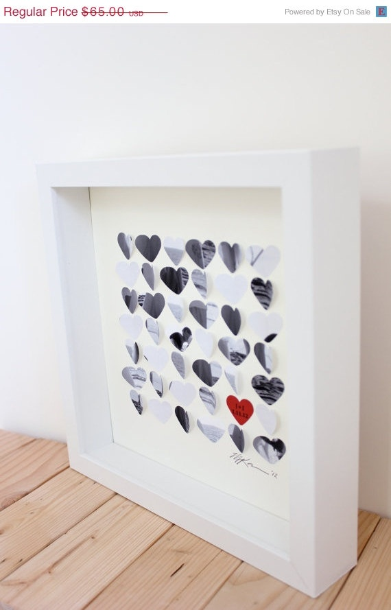 On Sale Personalized Valentine's Day gift  3D Photo by CeladonHome, $60.00