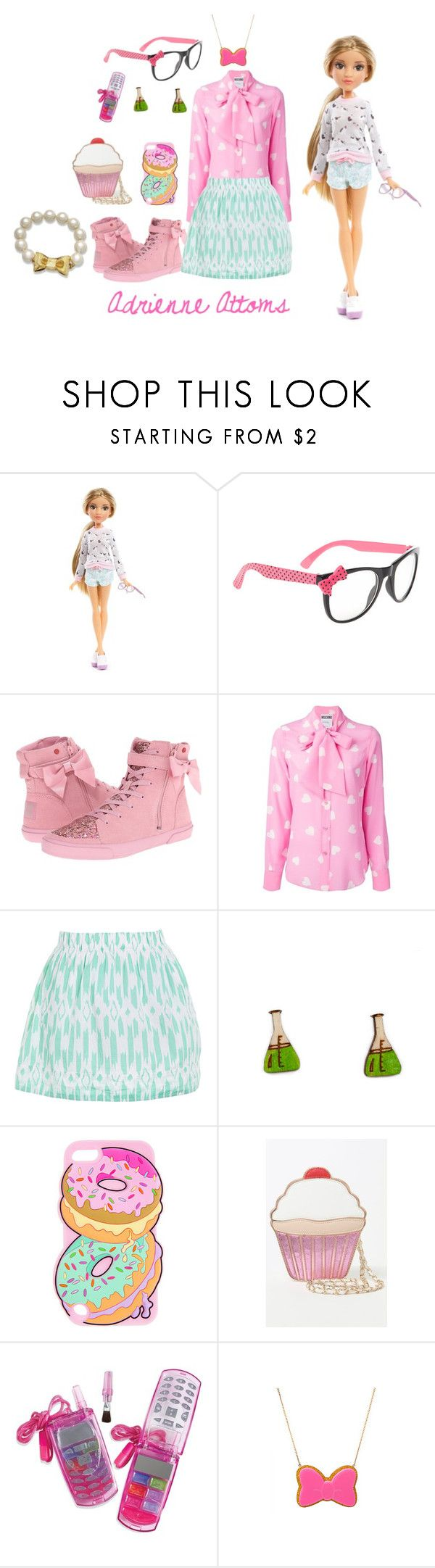 """Adrienne Attoms-Project MC2"" by grace-buerklin ❤ liked on Polyvore featuring MC2, claire's, UGG Australia, Moschino, J.Crew, Kate Rowland, Nila Anthony, ASOS, Kate Spade and projectmc2"