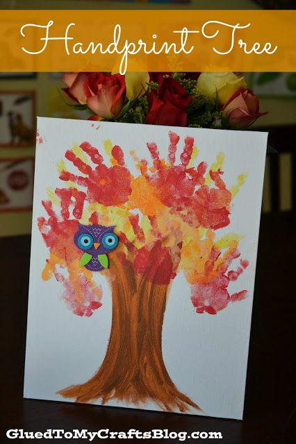 Handprint Tree {Craft}