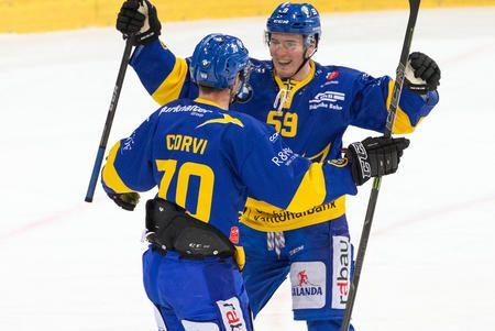 Hockey Club Davos Ohne zu begeistern hat der HCD den Tabellenletzten Ambri mit 4:1 bezwungen. Enzo Corvi war nicht nur wegen seiner beiden Treffer der beste Spieler auf dem Eis.