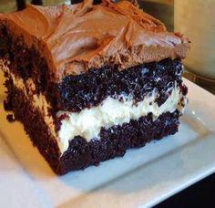 Chocolate Twinkie Cake ~ Recipe of today
