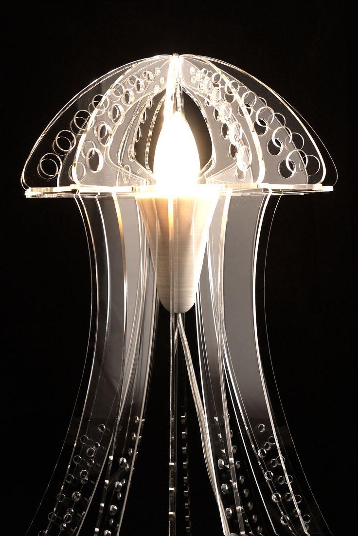 Transparent MEDUZA light
