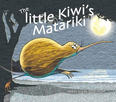 The little Kiwi is fast asleep in her burrow. A beam of moonlight shines right down into her burrow. She wakes, and realises it is time. Hurrying out into the night, she wakes each of her friends from their midwinter slumber.'Kia tere! Hurry!' she urges them.. ....