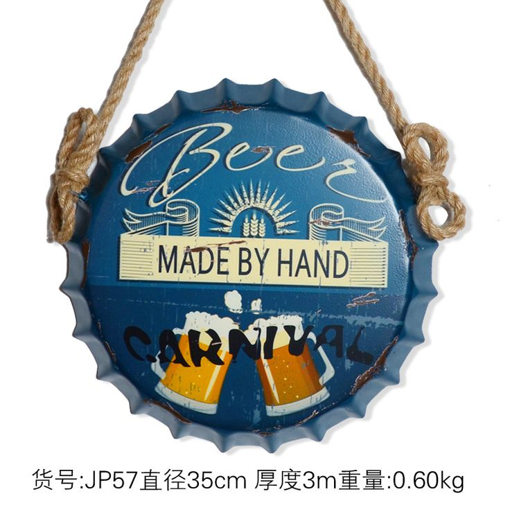 """Brand new arriving """"MADE BY HAND""""3D effect tin sign Wall Hangings Vintage Metal Painting Beer Cap Bar Cafe  Decoration Poster Mural Craft  35X35 CM now available for purchase US $63.80 with free delivery  you could find this unique item together with more at our online store      Buy it now in the following >> http://thegallery.store/products/made-by-hand3d-effect-tin-sign-wall-hangings-vintage-metal-painting-beer-cap-bar-cafe-decoration-poster-mural-craft-35x35-cm/,  #ShopArt"""