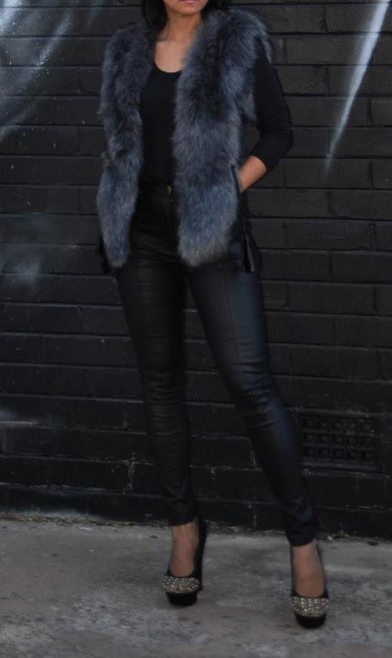 The Franki Faux Fur Vest. $95 FREE SHIPPING! Now On www.stylelement.com