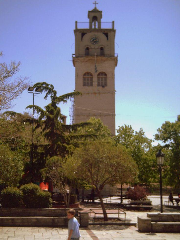 Clock Tower, Nikis (Victory) Square, Kozani, Greece