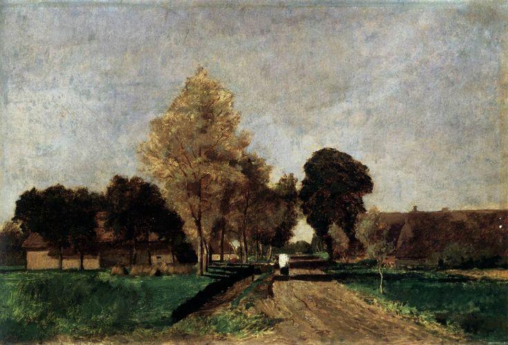 Noon, 1870, László Paál