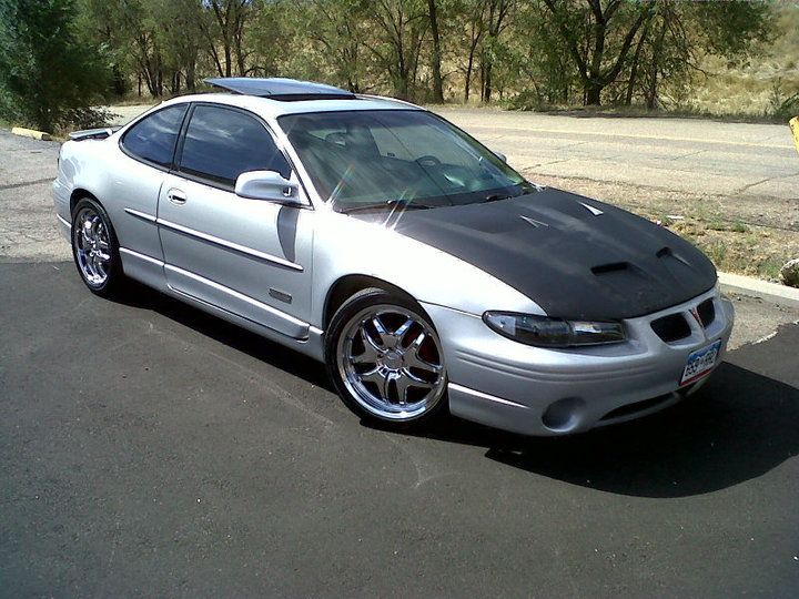 1999 pontiac grand prix gt with rims | 1999 Pontiac Grand ...