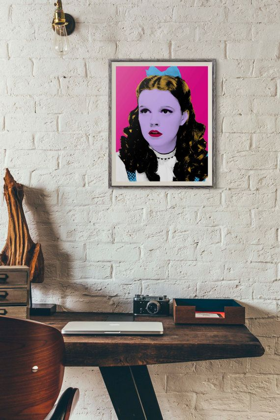 Dorothy Wizard of Oz Wizard of Oz Poster Judy by PopShopPrintables