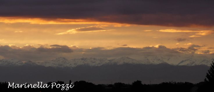 Sunset on the Monte Rosa