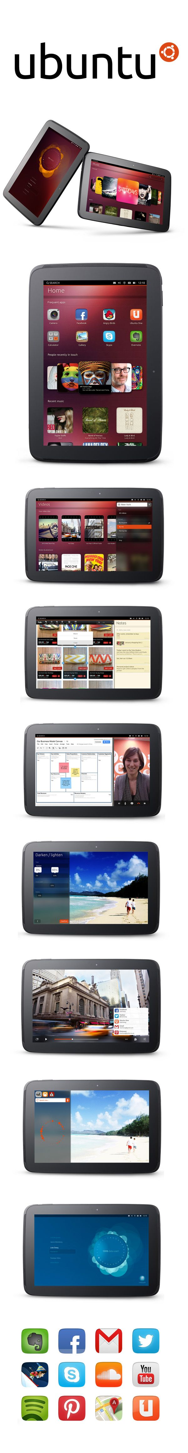 Ubuntu for tablets revealed with split screen multi-tasking, preview for Nexus slates coming this week :)