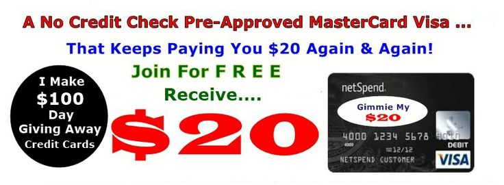 You have nothing to lose, only money to gain. its Free..... the secret is you get $20 for free. All you need to do is sign up for the card with basic information, wait for your card in the mail then activate it. free to join!!  http://www.mynetspendcard.com/?uref=1248463765