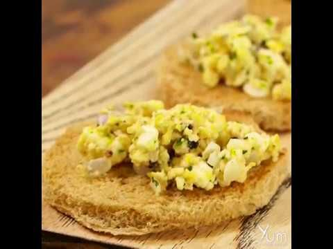 Scrambled Eggs With Paneer