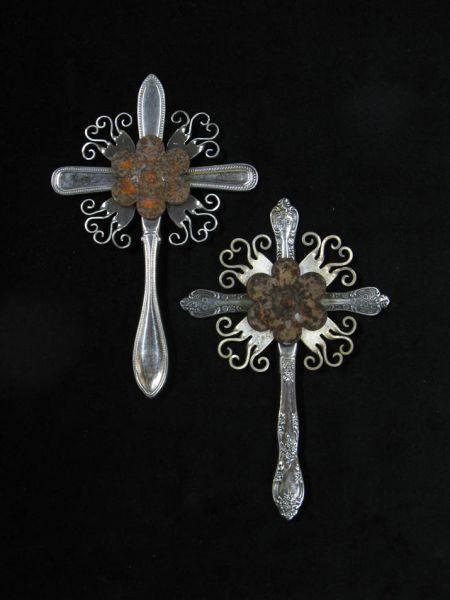 silverware crosses