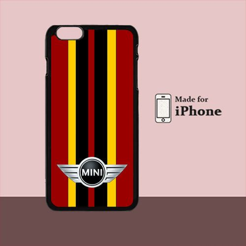 New Mini Cooper Red Logo For iPhone 6 Plus Hard Case