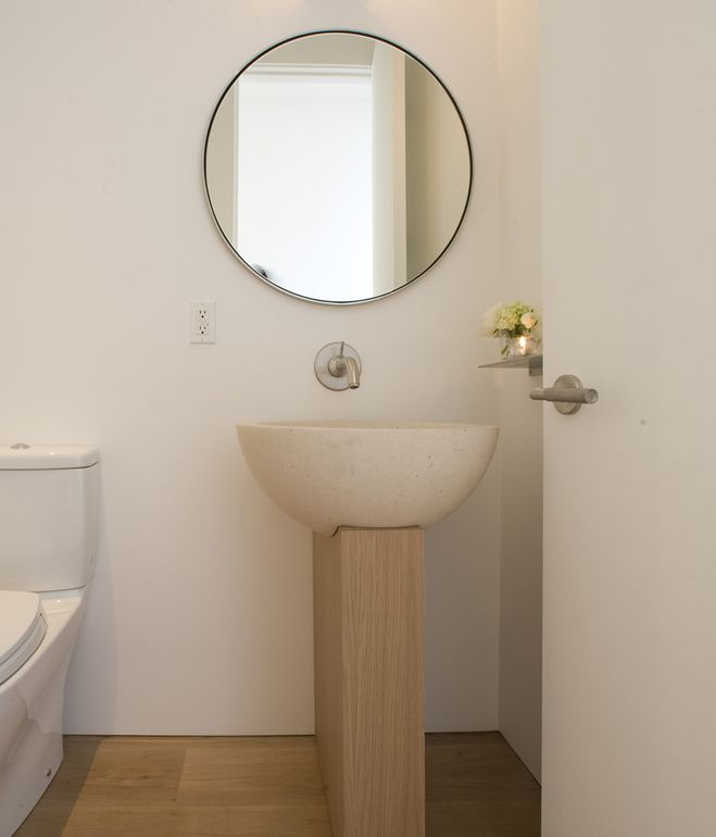 Stand Alone Sinks For Bathroom : stand alone sink Bathroom Inspirations Pinterest