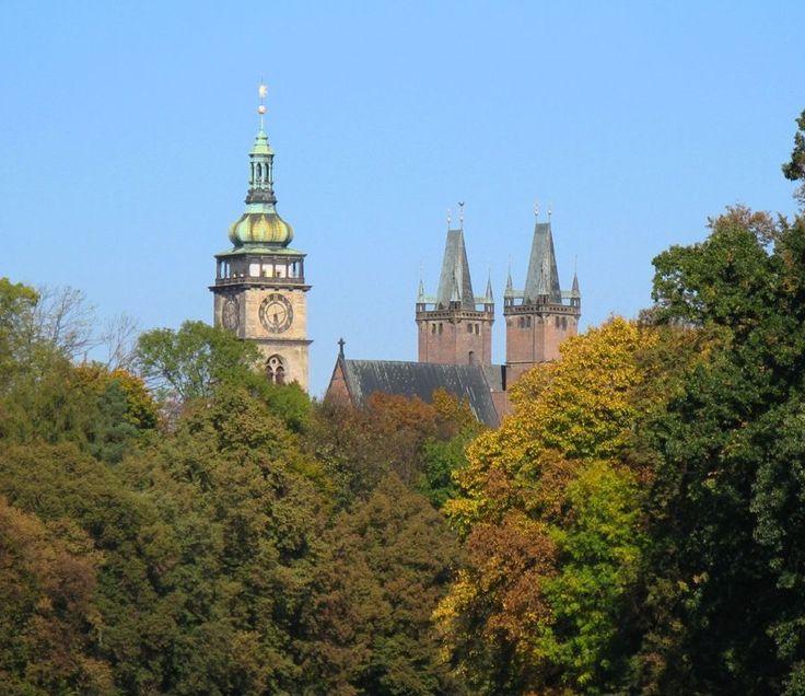 Towers of Hradec Králové, Czechia
