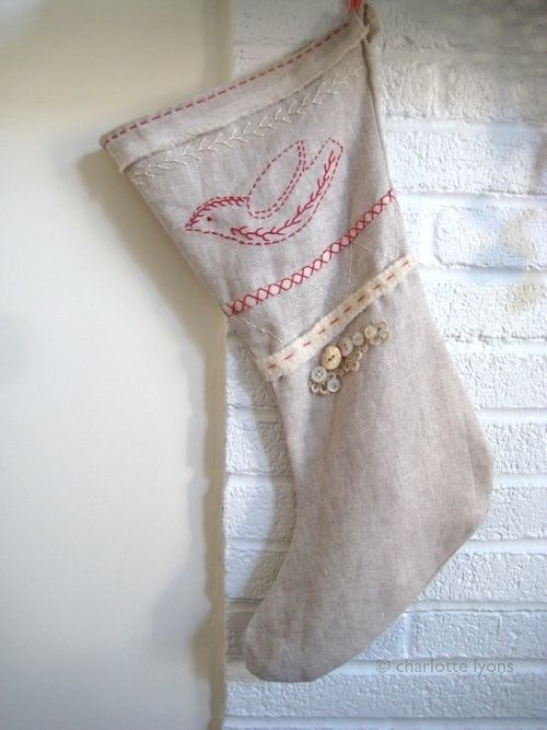 oh i want to make a stocking like this!