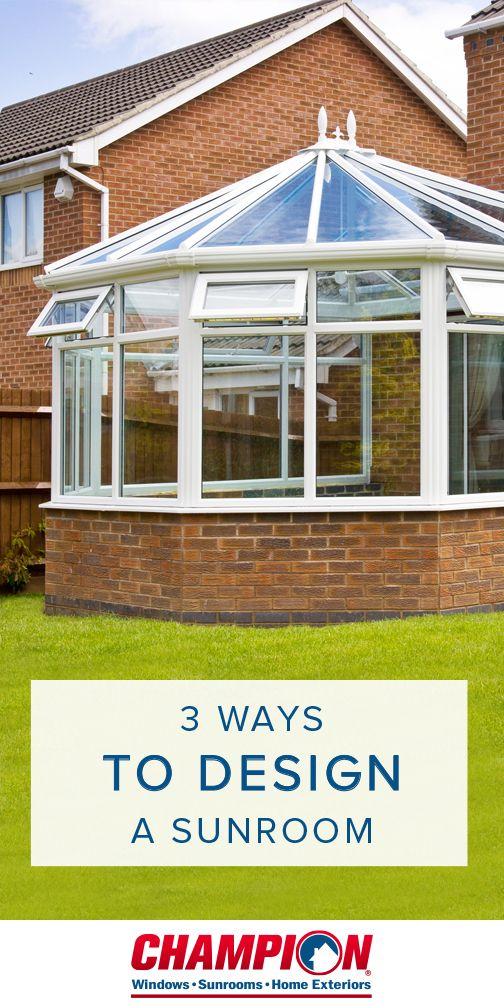 Best 25 champion sunrooms ideas on pinterest four - Champion home exteriors glassdoor ...