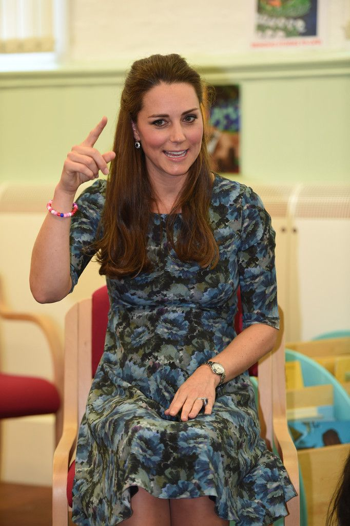 Kate Middleton Photos: The Duchess Of Cambridge Visits Action For Children's Cape Hill Children's Centre