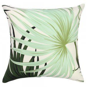 45 x 45cm Mint Palms Outdoor Cushion Cover