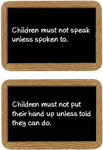 Victorian School Rules - Treetop Displays - Printable EYFS, KS1, KS2 classroom displays & primary teaching resources