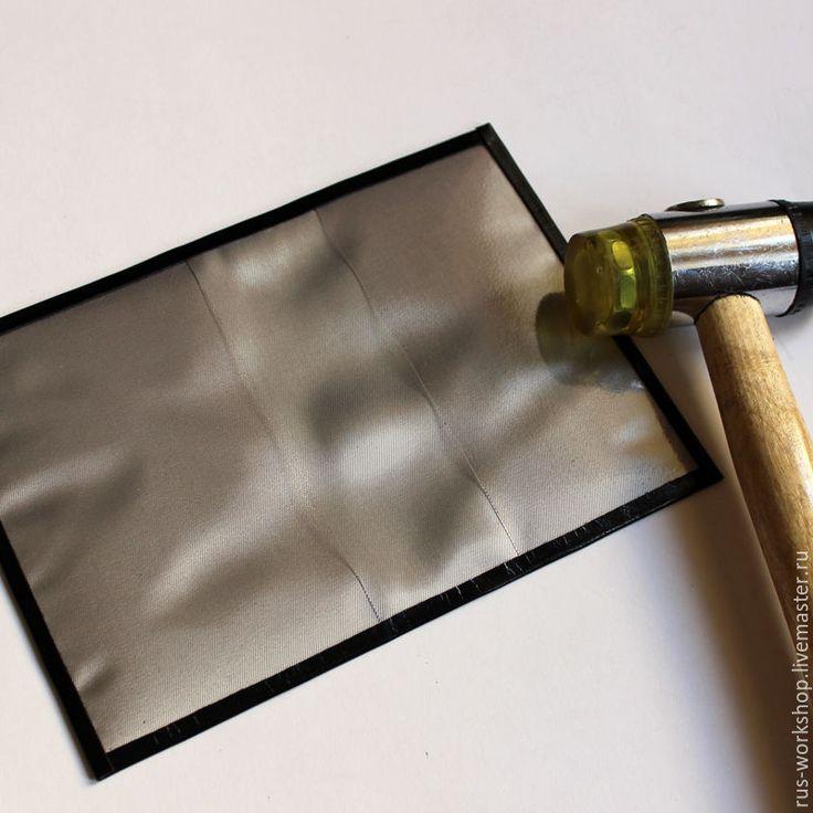 Изготовление кожаной обложки на паспорт с нанесением тиснения - Ярмарка Мастеров - ручная работа, handmade