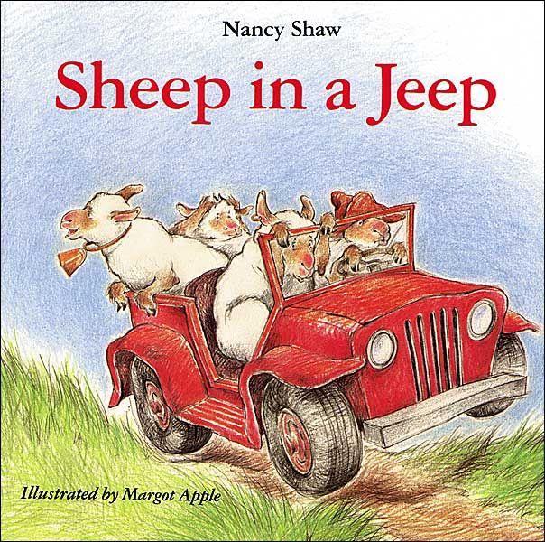 Sheep in a Jeep @Caroline Colvin @Natalie Colvin: Jeeps, Nancy Shaw, Margot Apples, Kids Books, Books Worth, Pictures Books, Sheep, Children Books, Boards Books