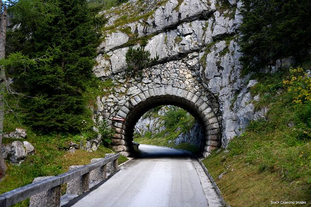 Tunnel On The Road to Kehlsteinhaus - Hitler's Eagles Nest, Bavaria, Germany  - Copyright All Rights Reserved Black Diamond Images