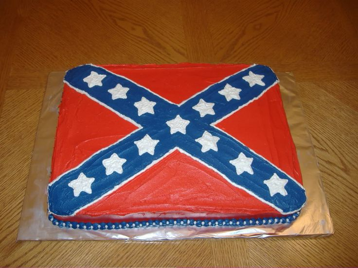 Confederate Flag Cake photo: Confederate Flag Cake This photo was uploaded by justdessertsbytara