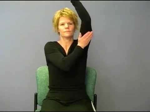 Self-Massage for Upper Extremity Lymphedema - YouTube