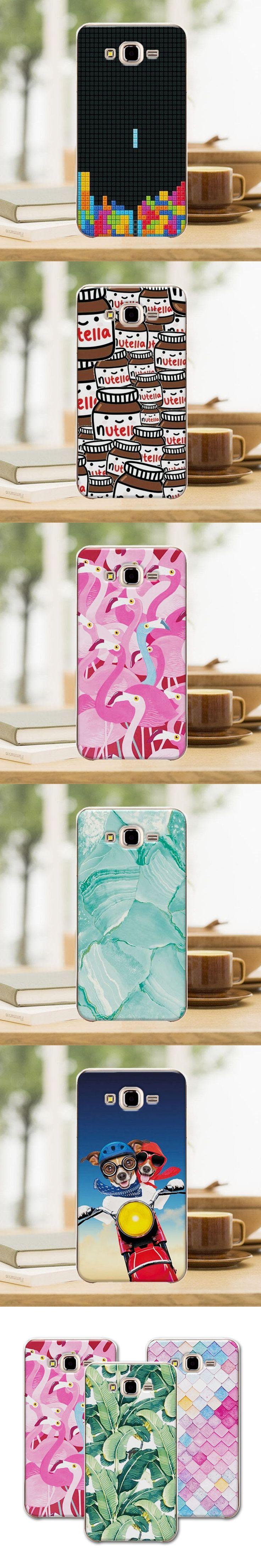 "Mermaid Newest Flamingo Cute Phone Case For Samsung Galaxy J3 2016 J320 J320F J320H Case Cover For Samsung J3 2016 5""+Free Gift"