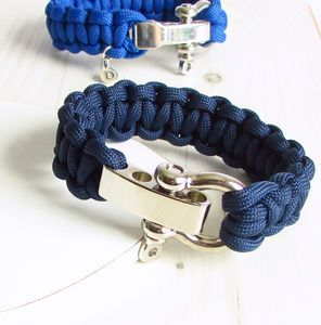 Personalised Paracord Bracelet - men's jewellery