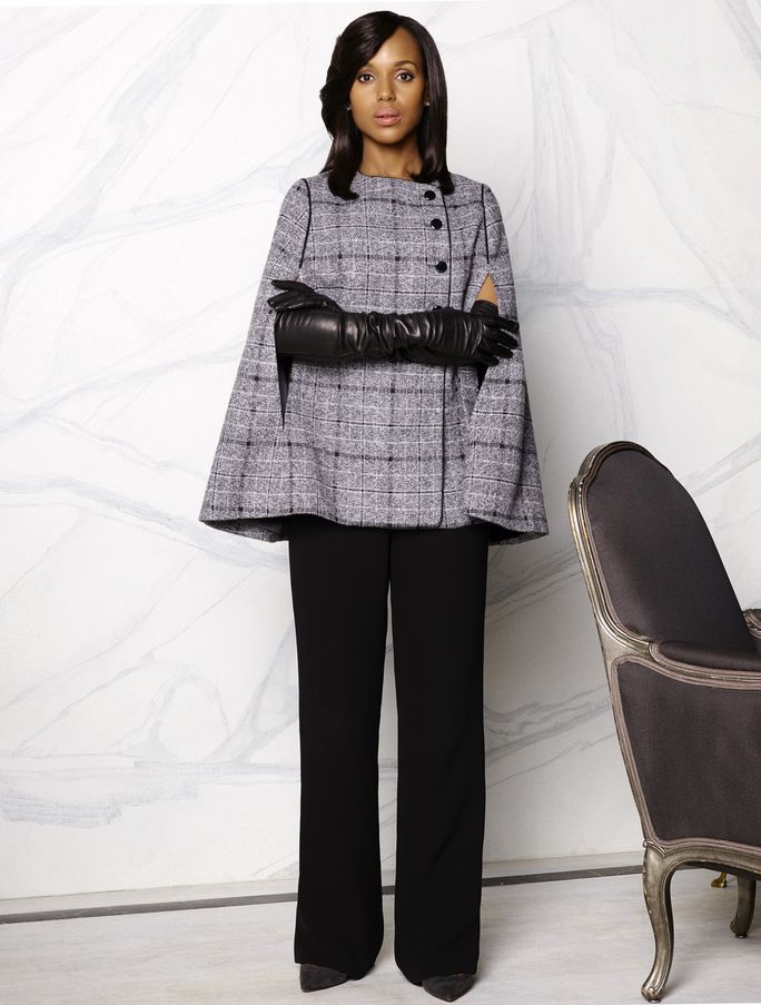Everything about this outfit. Olivia Pope=perfection.